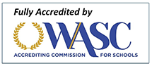 Fully accredited b WASC, ACCREDITING COMISSION FOR SCHOOLS